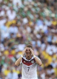 Bastian Schweinsteiger at the 2014 World Cup