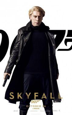 James Bond is back in Skyfall starring Daniel Craig, Ralph Fiennes, Javier Bardem, Ben Whishaw, and Judi Dench. Directed by Sam Mendes. James Bond Skyfall, James Bond Watch, James Bond Movie Posters, James Bond Movies, Cinema Posters, Daniel Craig James Bond, Bond Girls, Javier Bardem Skyfall, Movie Posters