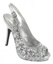 £29.99 makes this shoe a great affordable bridesmaid accessory. Available from The Wedding Boutique, Carlisle and online.