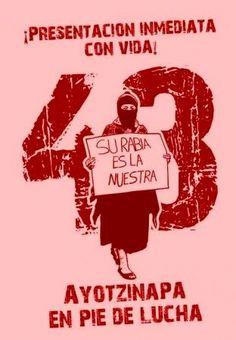 EL EZLN SE UNE A LA JORNADA DEL 22 DE OCTUBRE EN APOYO A AYOTZINAPA Y AL PUEBLO YAQUI