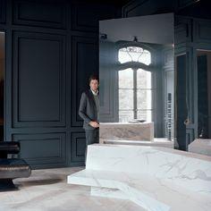 Les plus beaux decors de Joseph Dirand - Le miroir comme un paravent