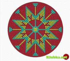 knitting instructions for beginners pdf Tapestry Crochet Patterns, Crochet Mandala, Irish Crochet, Diy Crochet, Crochet Bags, Native Beading Patterns, Mochila Crochet, Bargello Quilts, Knitting Basics