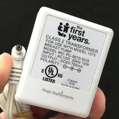 First Years Breast Pump 1075 Power Supply Adapter Charger First Year, Charger, How To Find Out, Breast, Pumps, Pumps Heels, Pump Shoes, Heel Boot, Slipper
