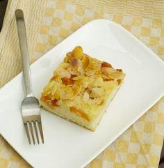 Mandel-Butterkuchen mit Aprikosen vegan I vegan-und-lecker.de