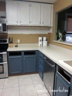 Painting A Galley Kitchen Cabinets Part 7 - Painting Kitchen Cabinets