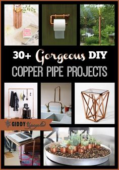 30+ DIY Upcycled Copper Pipe Project Ideas