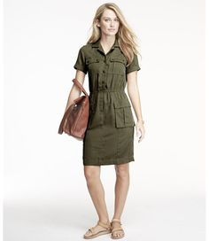 Free Shipping. Discover the features of our Signature Fatigue Shirt Dress at L.L.Bean. Our high qualityWomen's Signature Collection are backed by a 100% satisfaction guarantee.