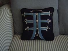 made from my old marching band uniform...my grandma made this!