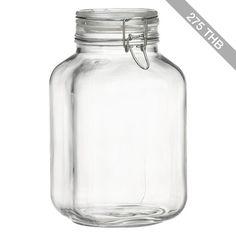 Crate & Barrel Fido 3-Liter Jar with Clamp Lid