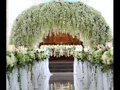 Ceremony Wedding Arch Flowers, Weddings, Wedding, Marriage