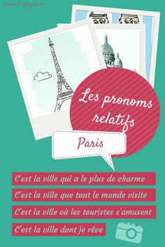 Relative Pronouns in French (grammar) - Les pronoms relatifs