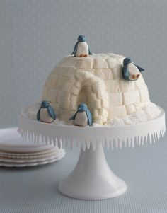 Pinguin cake! Very cute <3