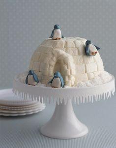 Pinguin cake! Very cute <3