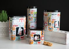 """Moomin """"Patch"""" Jar for Coffee Filters « Moomin Mugs Moomin Mugs, Coffee Filters, Display, Tins, Tableware, Bowls, Jar, Home, Design"""