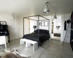 Bedroom Decorating An Unfinished Basement Design, Pictures, Remodel, Decor and Ideas - page 2
