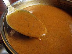 Chili Gravy, pour over your next batch of enchiladas or burritos. So delicious and easy! & recipe for homemade tortillas Mexican Enchiladas, Beef Enchiladas, Homemade Enchiladas, Easy Cheese Enchiladas, Enchilada Gravy Recipe, Wet Burrito Gravy Recipe, Restaurant Style Enchilada Sauce Recipe, Taco Bueno Chili Sauce Recipe, Enchilada Recipes