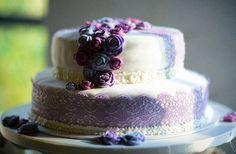 Hochzeitstorte * Traum in Violett
