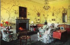 Chinese Drawing Room at Rossdhu, Clan Colquhoun, Scotland