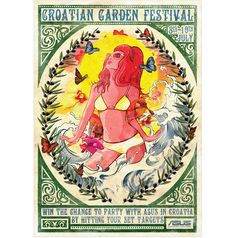 Croation Garden Festival - Poster.