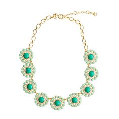 J. CREW - CRYSTAL CIRCLE NECKLACE