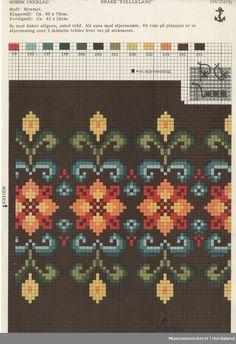 Crochet Rug Patterns, Embroidery Patterns, Cross Stitch Geometric, Ethnic Bag, Chart Design, Needle And Thread, Cross Stitch Embroidery, Bohemian Rug, Knit Crochet