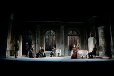 The Cherry Orchard. The Huntington Theatre Company. Scenic design by Ralph Funicello. 2007