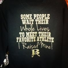 favorite player, favorite athlete, I raised mine tee by Rocknmamadesigns on Etsy Athlete, Softball, Baseball, Trending Outfits, Tees, Rock, Fastpitch Softball, T Shirts, Batu