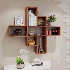 Top 8 Brilliant DIY Wall Shelves to Beautify Your Home Wooden Shelf Design, Corner Shelf Design, Wall Shelves Design, Diy Wall Shelves, Wooden Shelves, Home Decor Furniture, Diy Home Decor, Furniture Design, Room Decor