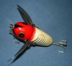 heddon antique fishing lures | vintage heddon fishing lures, Hard Baits