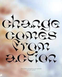 Alex Valentina on Behance Font Design, Design Typography, Typography Fonts, Type Design, Lettering, Graphic Design Posters, Graphic Design Illustration, Layout Design, Design Web
