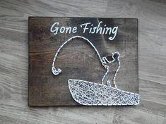Gone #fishing String Art