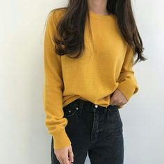 Read Calça jeans from the story Looks coreanos by (Nathalia) with 534 reads. looks. Casual Outfits, Fashion Outfits, Womens Fashion, Xavier Samuel, Pretty Outfits, Cute Outfits, Mellow Yellow, Korean Fashion, Style Me