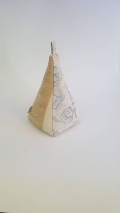 Excited to share the latest addition to my #etsy shop: Fabric Doorstop, Pyramid Shaped, Tan, Blue & Beige, Heavy Fabric Door Stop 129 https://etsy.me/2jYLZmJ #housewares #homedecor #beige #blue #entryway #fabricdoorstops #fabricdoorstoppers #doorstops #doorstoppers
