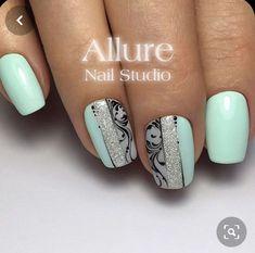Nail Art Diy, Diy Nails, Cute Nails, Pretty Nails, Nail Art Arabesque, Toe Nail Designs, Nail Studio, Stylish Nails, Holiday Nails