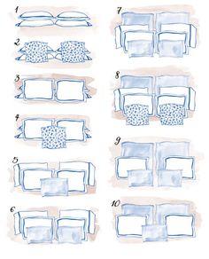 Aprenda a organizar os travesseiros da sua cama de casal Home Bedroom, Bedroom Decor, Bedrooms, Bedding Master Bedroom, Dispositions Chambre, Interior Design Tips, Interior Inspiration, New Room, Home Staging