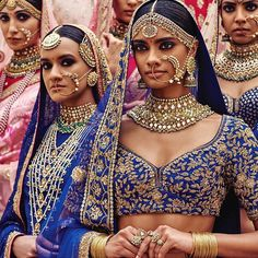 b264095cd81 A Complete Guide To All The Pin-Worthy Images From The Sabyasachi  Spring-Summer Collection 2016!