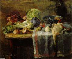 James Ensor - nature morte avec canard