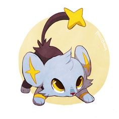 shinx! Love this Pokemon! So cute!