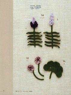 "Photo from album ""crochet mini motif on Yandex. Freeform Crochet, Crochet Motif, Crochet Flowers, Crochet Home, Irish Crochet, Crochet Accessories, Hair Accessories, Waldorf Dolls, Needlework"