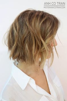 UNDONE + BEAUTIFUL + LIVED IN HAIR. Cut/Style: Anh Co Tran. Appointment inquiries please call Ramirez Tran Salon in Beverly Hills: 310.724.8167