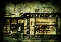 By Andrew Paranavitana on Displate #paris #vintage #street #shop #displate