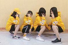 Girl Friendship, Best Friendship, Ulzzang Couple, Ulzzang Girl, Bff Pictures, Cute Photos, Ft Tumblr, Korean Best Friends, Bff Girls
