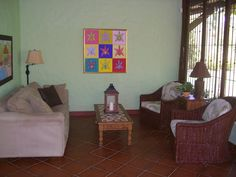 Living room, Villa La Fiaca
