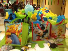 Disney Themed Prize Bags (Shanay & Edward's Baby Shower)
