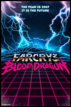 Far Cry 3: Blood Dragon on Behance