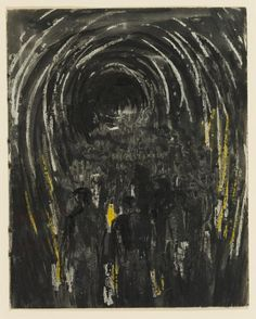 Miners Walking into Tunnel – Results – Search Objects – Henry Moore artworks Henry Moore Artwork, Sketchbook Pages, World War Ii, Abstract Art, Objects, Walking, Oblivion, Search, Homework