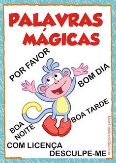 Cartazes de Rotina Dora Aventureira