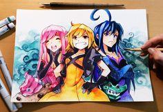Team Pumpkin by Naschi.deviantart.com on @DeviantArt