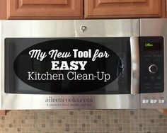 Check out my new tool for easy kitchen clean-up /clorox/ #ad