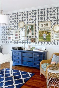 Top This Top That My Office Makeover... and the prettiest shade of blue http://topthistopthat.blogspot.com/2015/01/my-office-makeover-and-prettiest-shade.html via bHome https://bhome.us